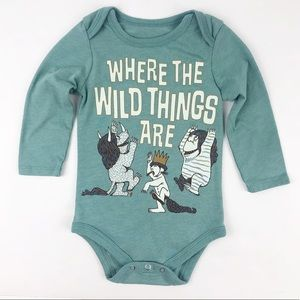 Where the Wild Things Are Infant Bodysuit 12 mo